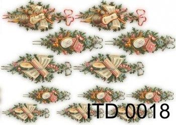 Decoupage Paper ITD D0018M