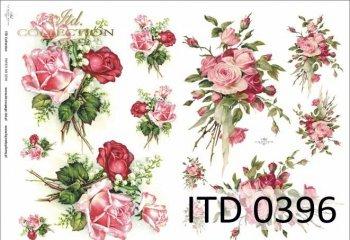 Decoupage paper ITD D0396
