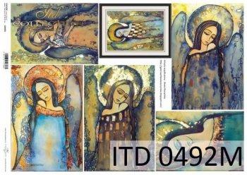 Decoupage paper ITD D0492M