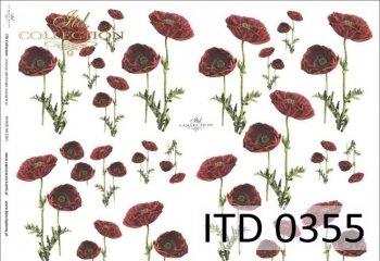 Decoupage paper ITD D0355M