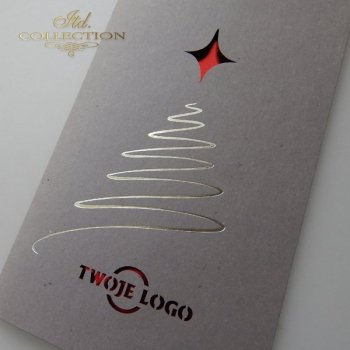 Christmas cards for business / Christmas card K602