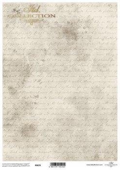 Translucent scrapbooking paper P0079