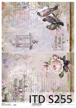 Decoupage paper Soft ITD S0255