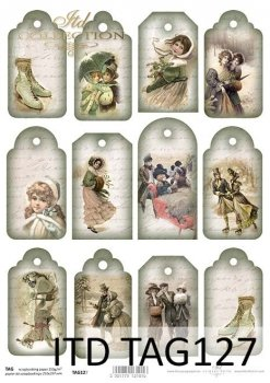 Tags, frames to scrapbooking TAG0127