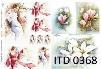 Decoupage paper ITD D0368M