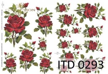 Decoupage paper ITD D0293