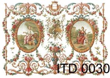 Decoupage paper ITD D0030