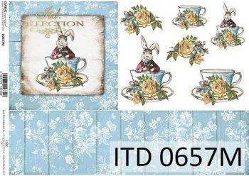 Decoupage paper ITD D0657M