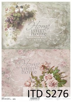 Decoupage paper Soft ITD S0276