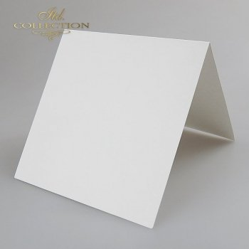 Card Base BDK-008 * natural white colour