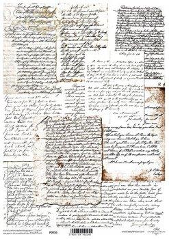 Translucent scrapbooking paper P0056