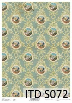 Decoupage paper Soft ITD S0072