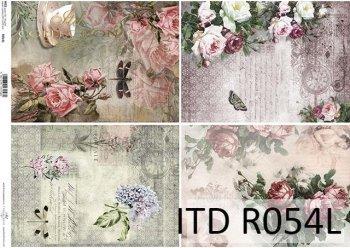 Papier ryżowy ITD R0054L