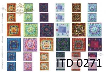 Papier decoupage ITD D0271