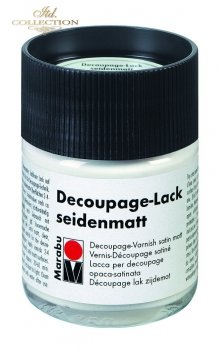 Lakier do decoupage Marabu 50 ml satynowy