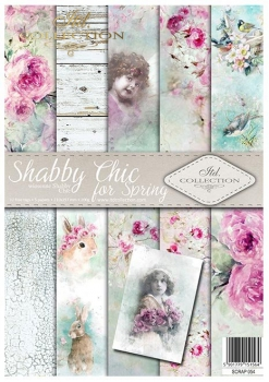Papier do scrapbookingu SCRAP-054 ''Shabby Chic for Spring''