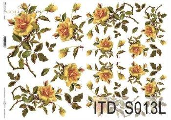 Papier decoupage SOFT ITD S0013L