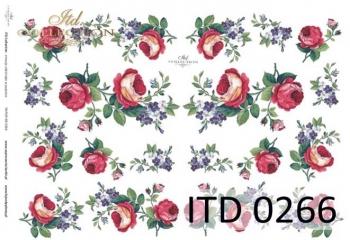 Papier decoupage ITD D0266M