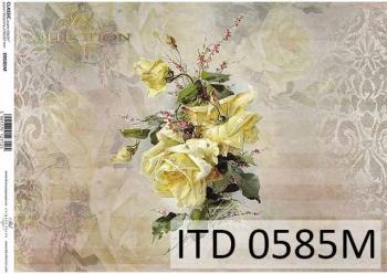 Papier decoupage ITD D0585M
