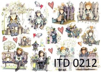Papier decoupage ITD D0212
