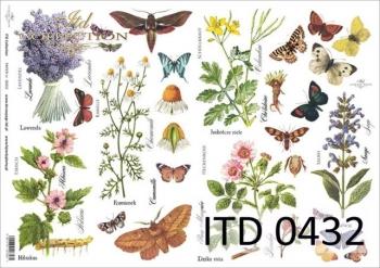 Papier decoupage ITD D0432