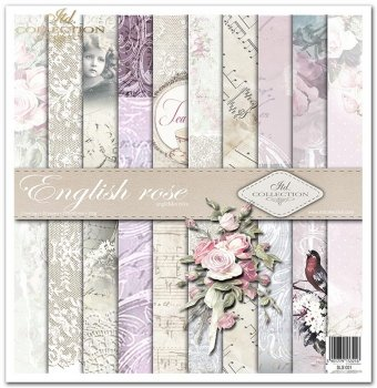 Zestaw do scrapbookingu SLS-001 ''English rose''