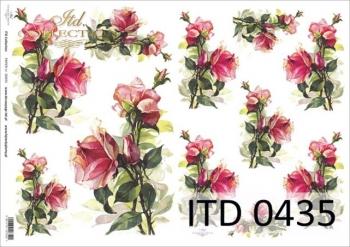Papier decoupage ITD D0435