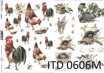 Papier decoupage ITD D0606M