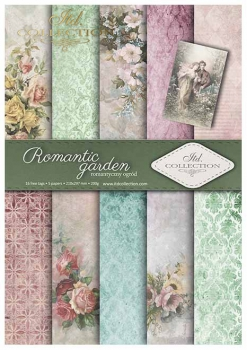 .Papier do scrapbookingu SCRAP-009 ''Romantic garden''