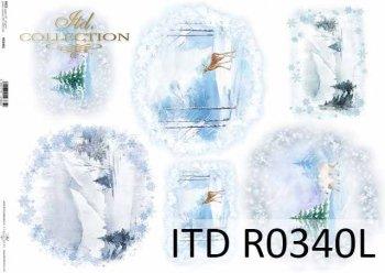 Papier ryżowy ITD R0340L
