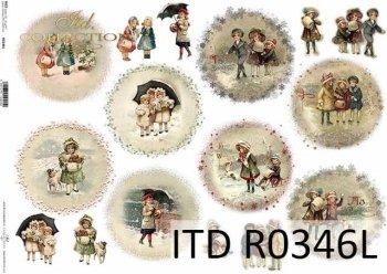 Papier ryżowy ITD R0346L