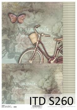 Papier decoupage SOFT ITD S0260