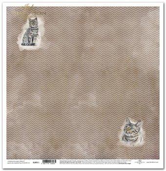 Papier scrapbooking SL893-1