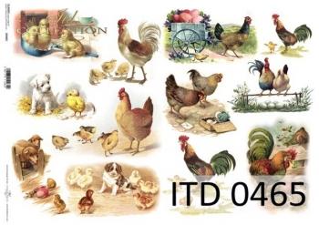Papier decoupage ITD D0465
