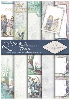 .Papier do scrapbookingu SCRAP-031 ''Angels & Boys''