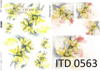 Papier decoupage ITD D0563