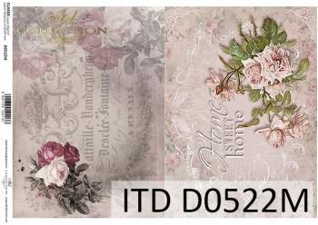 Papier decoupage ITD D0522M