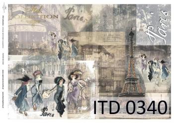 Papier decoupage ITD D0340M