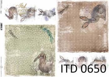 Papier decoupage ITD D0650