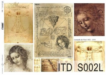Papier decoupage SOFT ITD S0002L
