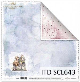 Papier scrapbooking SCL643