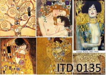 Papier decoupage ITD D0135