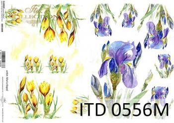 Papier decoupage ITD D0556M