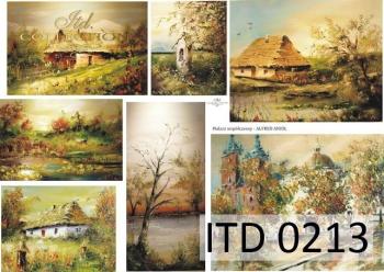 Papier decoupage ITD D0213M
