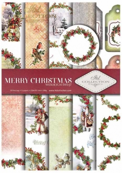 .Papier do scrapbookingu SCRAP-021 ''Merry Christmas