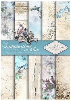 Papier do scrapbookingu SCRAP-046 ''Summertime in blue''''