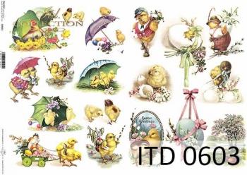 Papier decoupage ITD D0603