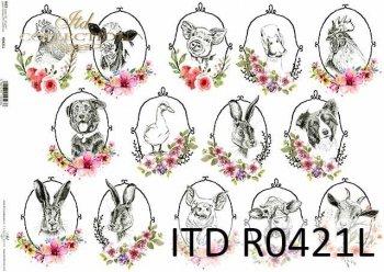 Papier ryżowy ITD R0421L