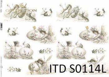 Papier decoupage SOFT ITD S0114L