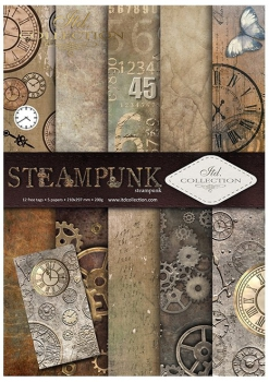 .Papier do scrapbookingu SCRAP-043 ''steampunk''